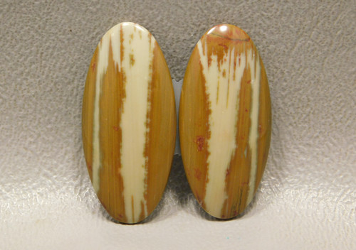 Owyhee Picture Jasper Matched Pair Cabochons #13