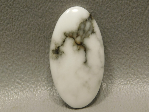 Cabochon Howlite Small Oval Loose Stone for Jewelry Design #11
