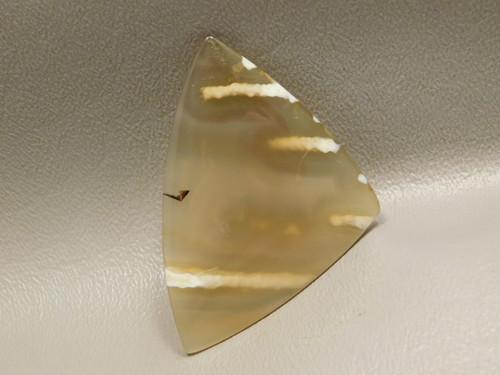 Rare Brazilian Tube Agate Cabochon Designer Gemstone #S1