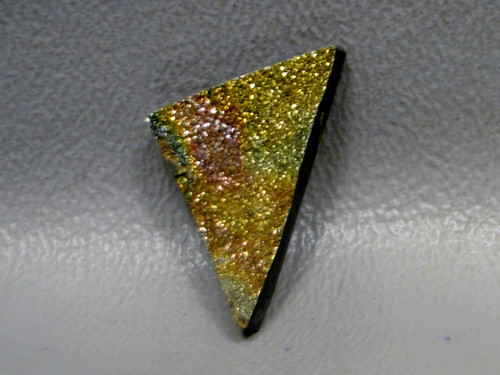 Rainbow Pyrite Cabochon #7
