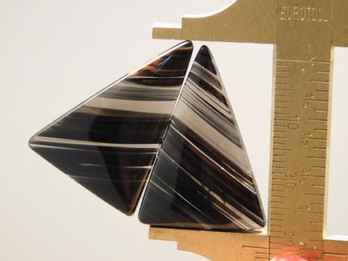 Mahogany Obsidian Matched Pairs Cabochons Designer Gemstone #2