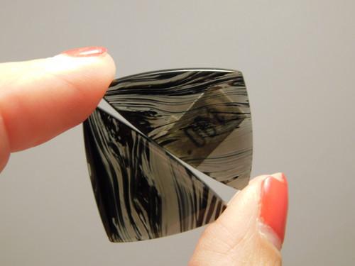 Mahogany Obsidian Matched Pairs Designer Cabochons #4