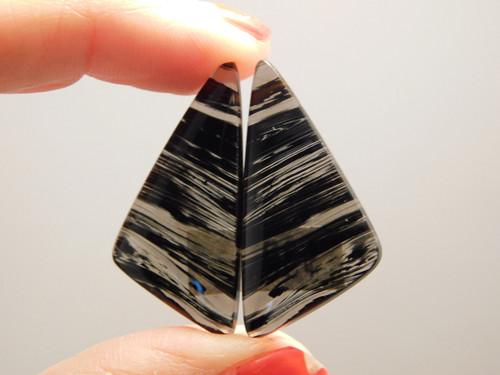 Mahogany Obsidian Matched Pairs Cabochons #10