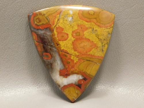 Morgan Hill Poppy Jasper Large Collector Designer Cabochon #XL1