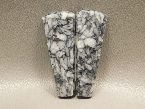 Pinolith or Pinolite Matched Pair Jewelry Stone Cabochons #7