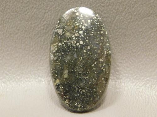 Pyrite Agate Designer Semi Precious Gemstone Cabochon #6