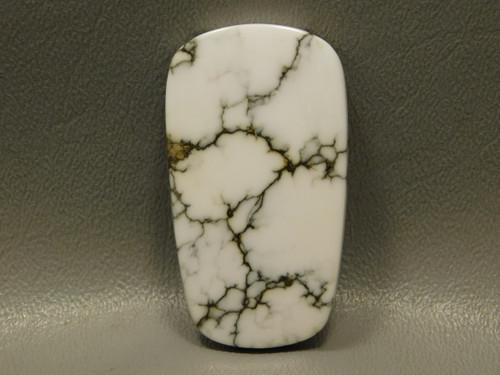 Stone Cabochon White Howlite California #2