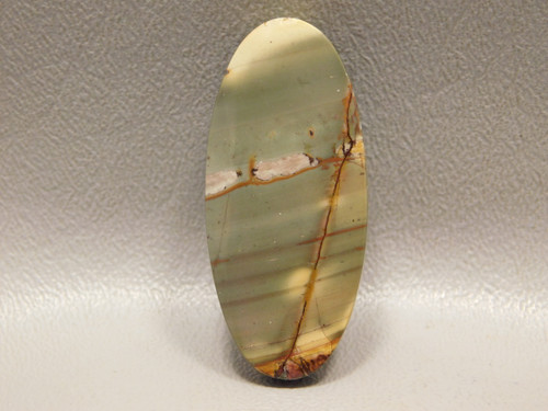 Cherry Creek Jasper Drilled Stone Bead Pendant #1