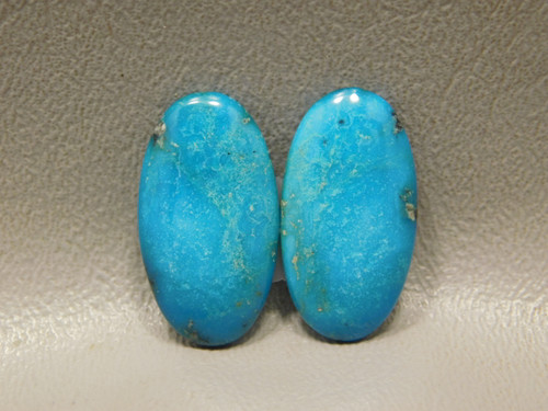 Turquoise Matched Pair Earring Stones Cabochons Kingman #5