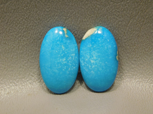 Turquoise Matched Pair for Earrings Cabochons Loose Stones #11