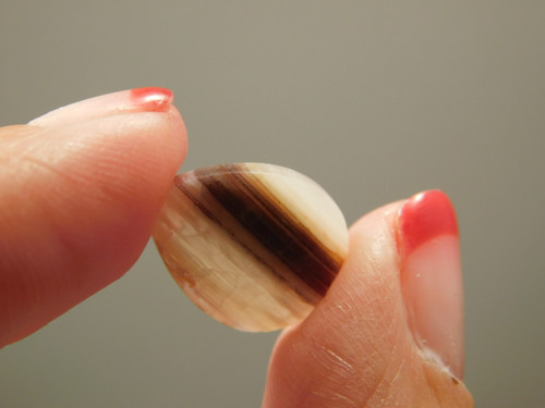 Cabochon Bacon Opal Designer Small Jewelry Stone #24