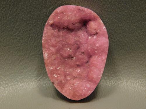 Cobaltocalcite Pink Drusy Crystal Freeform Gemstone Cabochon #7