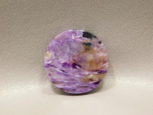 Charoite Purple Gemstone Cabochon 31 mm Round Stone #19