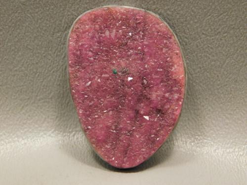 Pink Drusy Druse Druzy Designer Cabochon Loose Stone #23