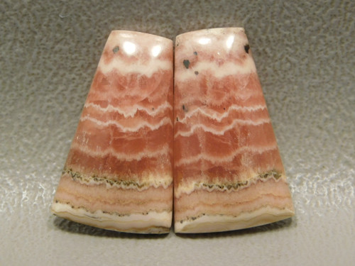 Cabochon Stones Rhodochrosite Matched Pairs  for Earrings #24