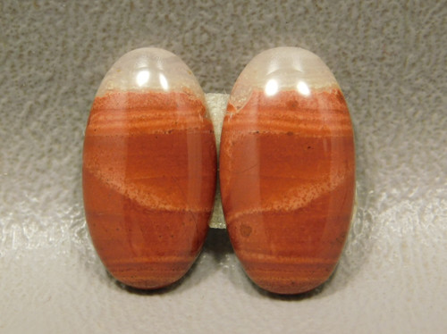 Red Jasper Matched Pairs Earring Making Supplies Cabochons #16