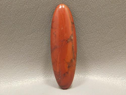 Red Jasper Long Thin Oval Cabochon Stone Semi Precious #22
