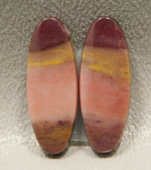 Mookaite Cabochons Mook Jasper Matched Pairs Stones #3