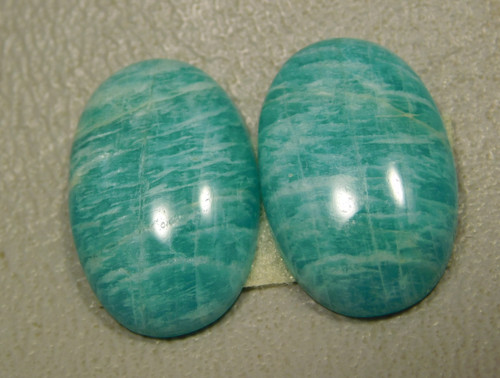Amazonite Matched Pairs Cabochons Loose Stones #11
