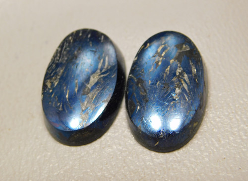 Covellite Cabochons Butte Montana Matched Pairs #7