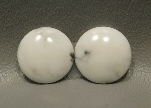 Cabochons Howlite Matched Pairs Stones 18 mm Rounds #10