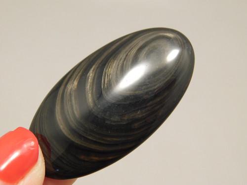 Mahogany Obsidian Cabochon #4
