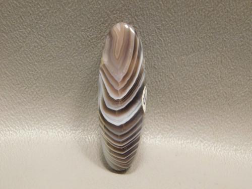 Botswana Agate Stone Bead Pendant #2