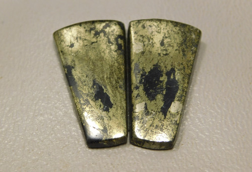 Apache Gold Matched Pair Cabochons Stones Jewelry Supplies #20
