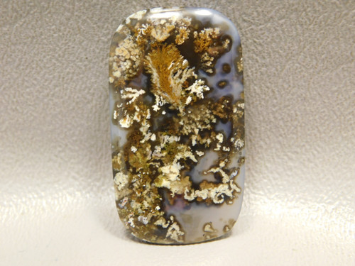 Priday Plume Agate Cabochon Stone Jewelry Making Supplies #17