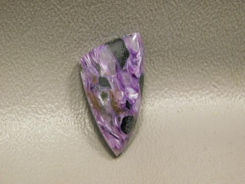 Purple Cabochon Charoite Loose Stone for Jewelry Design #14