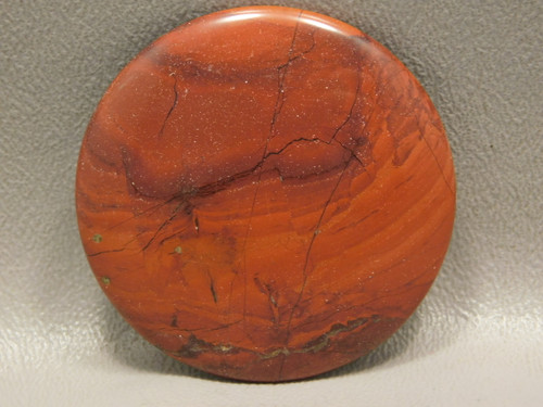 Red Jasper 45 mm Round Cabochon Semi Precious Gemstone #21