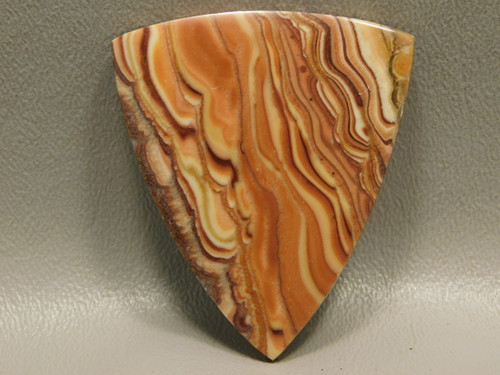 Stone Cabochon Large Triangle Stone Wave or Rolling Hills Dolomite #15