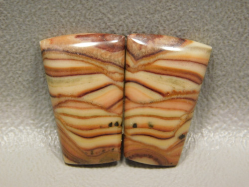 Rolling Hills Dolomite Semiprecious Stone Cabochons Matched Pairs #15