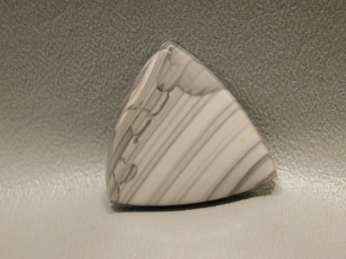 Willow Creek Jasper Cabochon Stone Triangle Trillion Mauve Pink #23