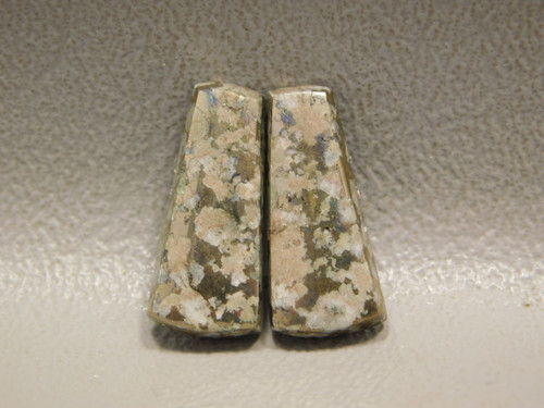Mohawkite Matched Pair Designer Cabochons Stones #3