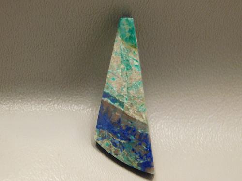 Shattuckite Focal Point Gemstone Bead Pendant Arizona #12
