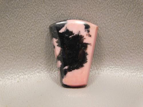 Rhodonite Pink Black Semi Precious Stone Cabochon Australia #13