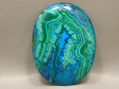 Chrysocolla Malachite Large Collector Designer Stone Cabochon #XL5