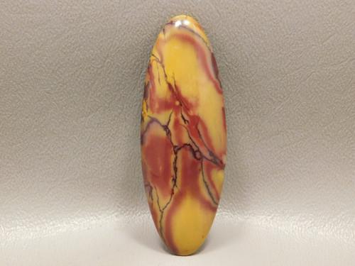 Red Yellow Collector Mookaite Jasper Designer Cabochon Stone #12