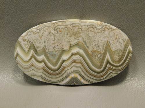 Crazy Lace Agate High Grade Stone Large Oval Collector Cabochon #xl3