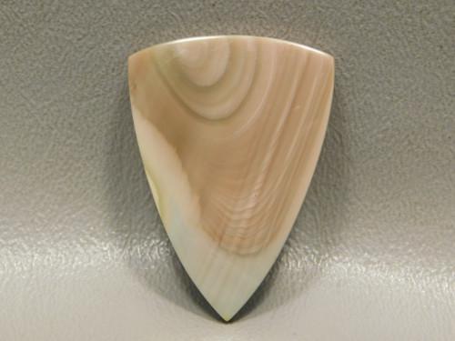 Royal Imperial Jasper Designer Cabochon Triangle Pastel Stone #17