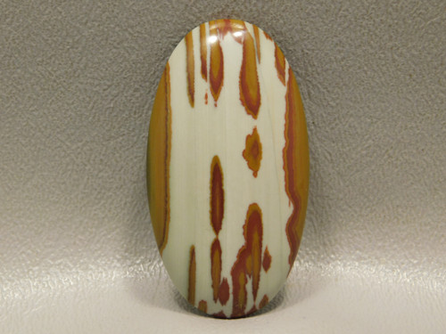 Semiprecious Stone Cabochon Oval Red Owyhee Jasper #1