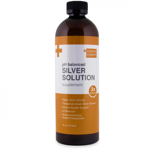 Alkaline Structured Silver Solution