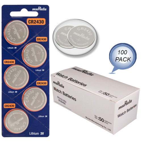 5 VARTA CR2430 LITHIUM BATTERIES 3V COIN CELL BUTTON DL2430 EXP 2028 NEW