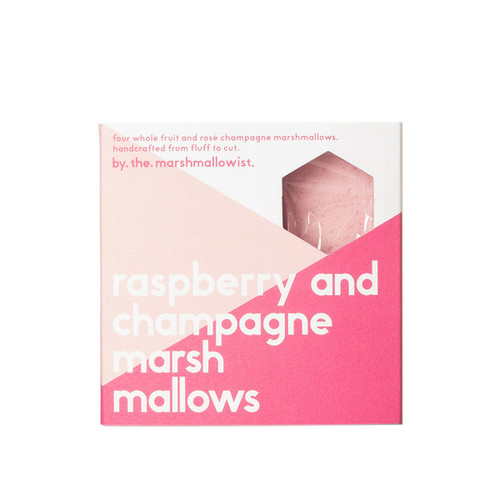 Raspberry & Champagne Marshmallows