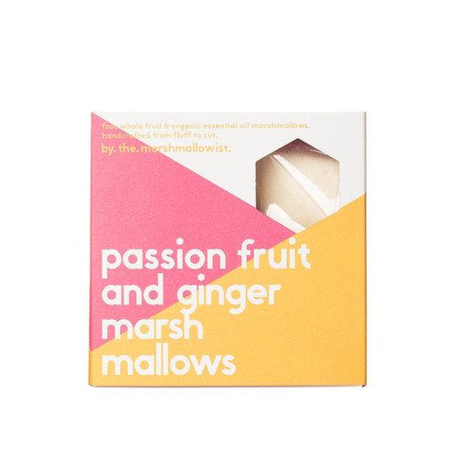 Passionfruit & Ginger Marshmallows