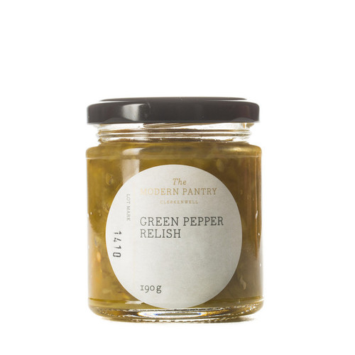 Green Pepper Relish