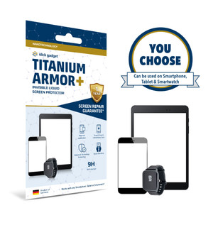 Certified Nano Liquid Screen Protector with $300 Screen Repair Warranty