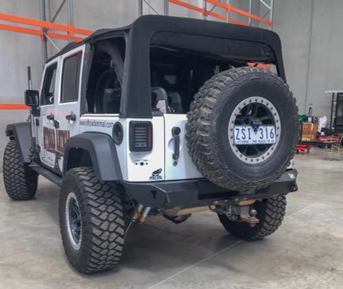 JK rear bumper