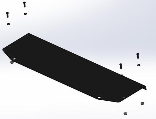 JK winch delete plate